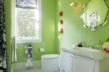 Идеи цвета и света в ванной