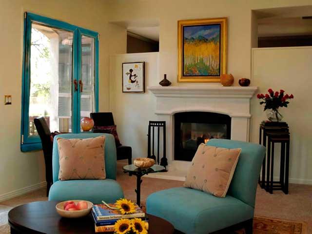 Способы оформления дизайна окна в зале и гостиной
