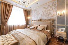 Красивый ремонт спальни