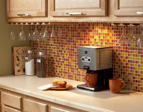 Мозаика для кухни – материал