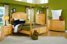 Идеи оформления спален в зеленых тонах: актуальные сочетания, новые идеи дизайна