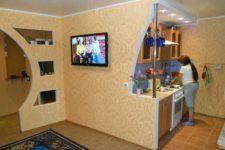 Перепланировка ванной комнаты и гостиной