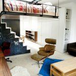 Спальня - кабинет в сталинке. Дизайн спальни с высокими потолками - необычный интерьер
