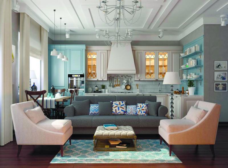 Европейский стиль в интерьере квартиры