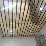 Потолок в ванной комнате своими силами