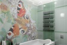 Мозаика как отделочный материал для ванной комнаты