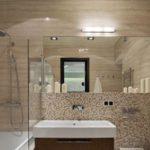 Отделка ванной пластиковыми панелями