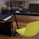 Угловой столик - компактность и функциональность