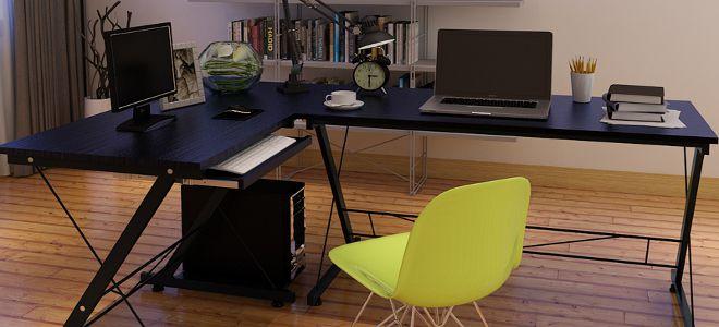 Угловой столик — компактность и функциональность
