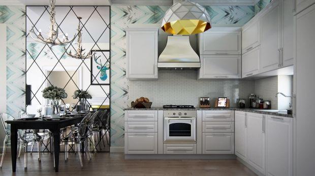 Кухонные вытяжки в интерьере