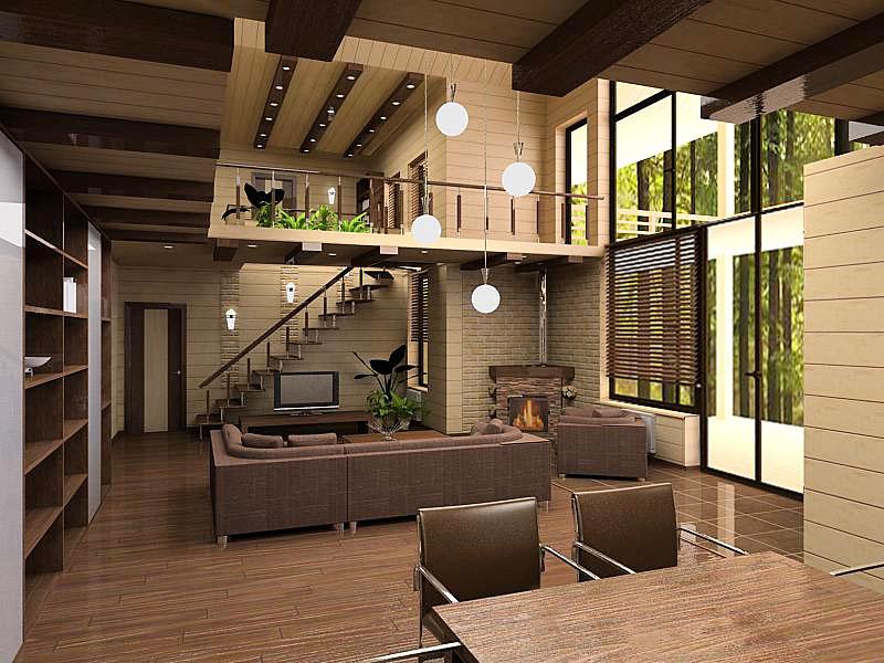 дизайн загородных домов и коттеджей фото внутри