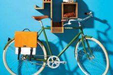 Хранение велосипеда в квартире – выбираем лучший вариант