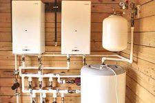 Газовое отопление для загородного дома