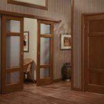 Двойные раздвижные межкомнатные двери