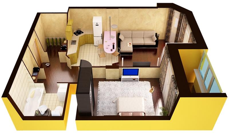 Перепланировка квартиры что можно а что нельзя 2017