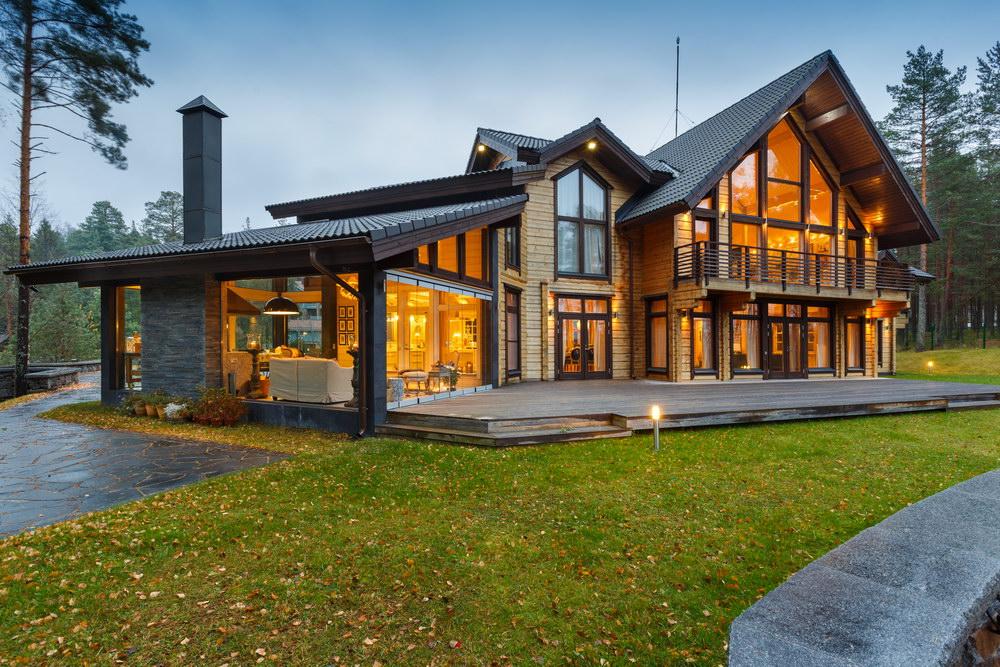 Финские дома из клееного бруса: особенности жилища и материала