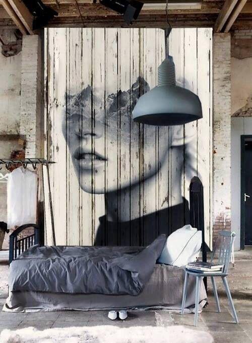 Деревянная стена: необычное решение для дома