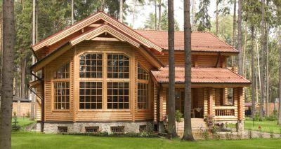Строительство коттеджей из дерева
