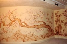 Декоративная роспись в интерьере
