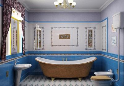Освещение ванной комнаты, некоторые идеи и советы