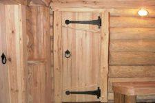 Дверь для бани своими руками