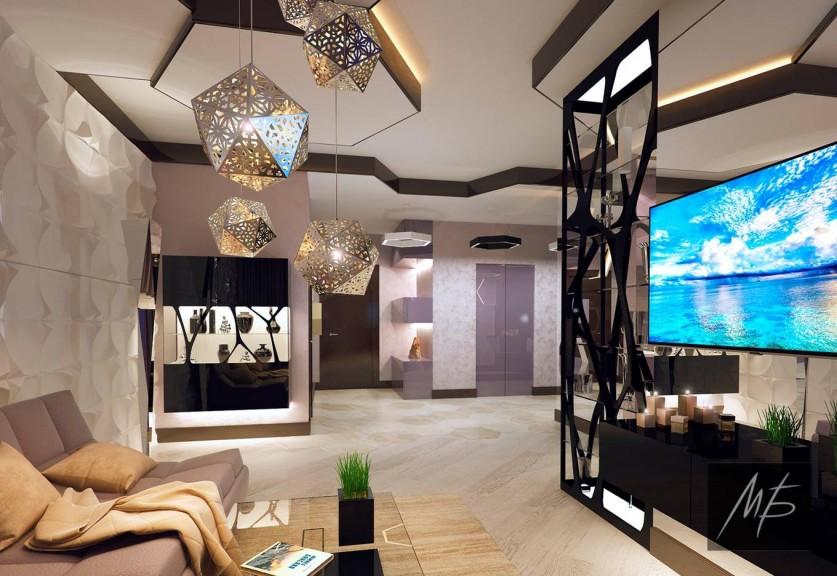 Геометрия в дизайне современного интерьера