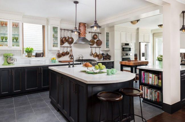 Кухня в стиле арт-деко: тонкости гармоничного интерьера и 75 избранных фотоидей на любой вкус