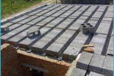 Перекрытия для газобетонного дома