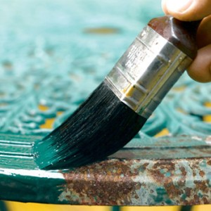 Краска по ржавому металлу