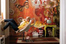 Фрески в интерьере современного дома