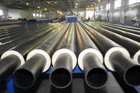 Изготовление теплогидроизолированных труб ППУ для нефтегазового сектора