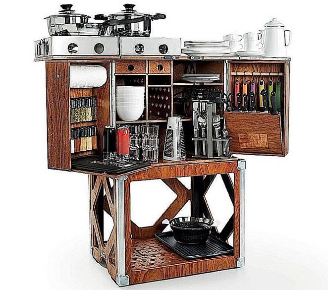 Мобильная кухня в современной интерпретации