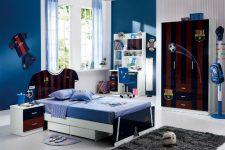 Шкаф в детскую комнату для мальчика. стильных вариации