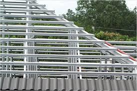 Металлическая обрешетка для крыши