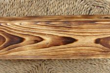 Техника обжига древесины
