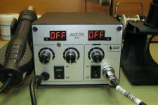Современная паяльная станция Accta 301