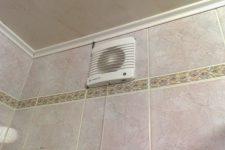 Как выбрать вентилятордля ванной комнаты