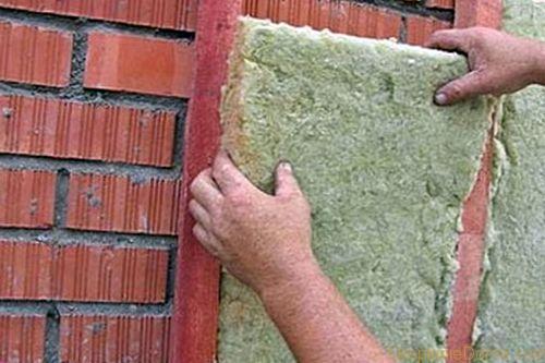 Как правильно провести утепление стен минватой