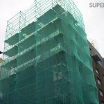 Фасадная сетка для стройки