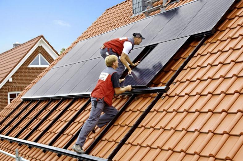 Как осуществить установку солнечных батарей?