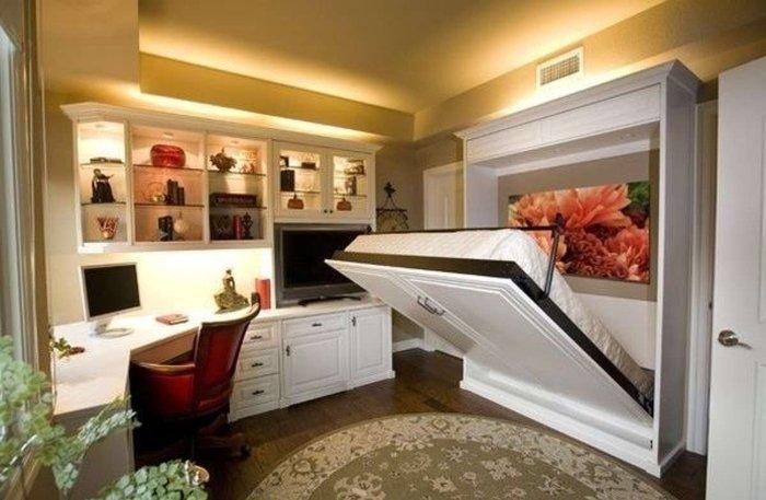 Расширяем пространство маленькой квартиры
