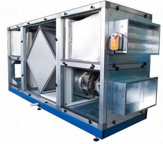 Применение приточно-вытяжных установок с рекуперацией энергии