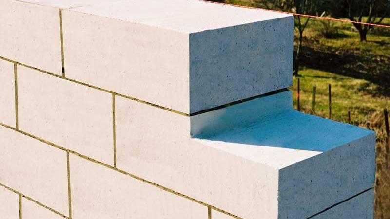 Технология укладки стен из газобетона