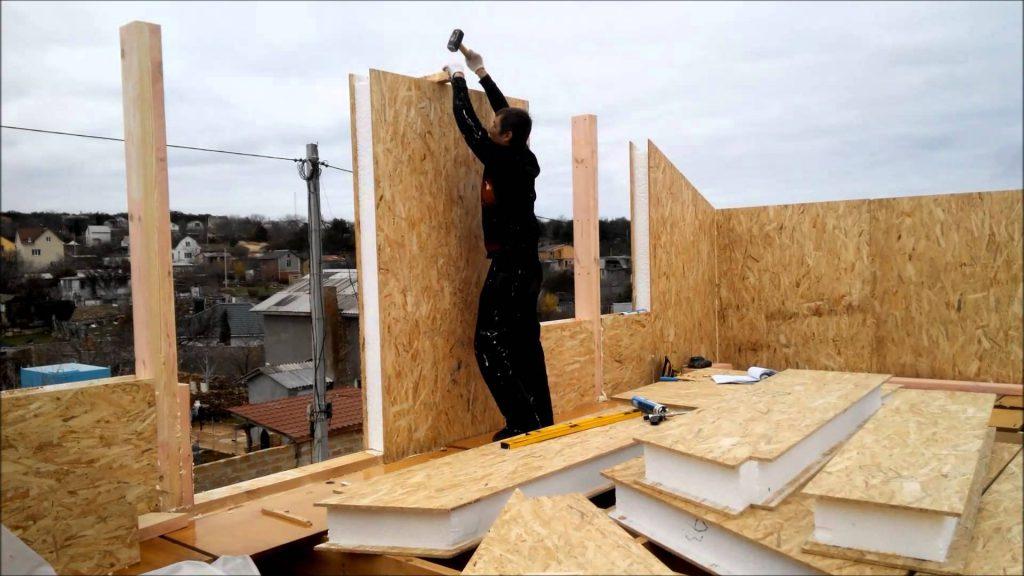 Строительство домов из СИП-панелей: в чем его преимущества и недостатки?