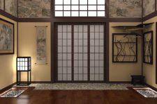 Кусочки Японии в домашнем интерьере