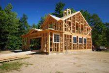 Строительство. Каркасный тип дома