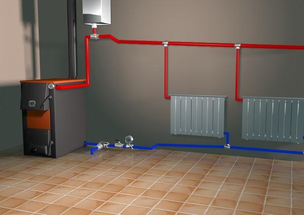Правила подбора уклона труб отопления в различных случаях
