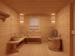 Каким материалом обшить баню изнутри