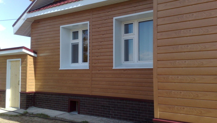 Сайдинг для фасада дома