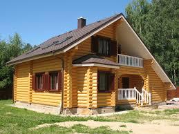 Строительство из оцилиндрованного бревна домов